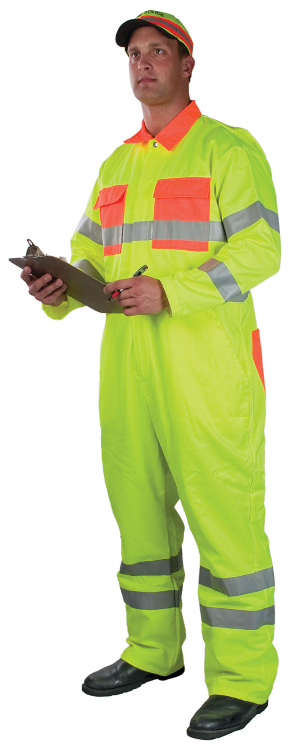 Alert Visions ANSI Class 3 High Visibility Coverall
