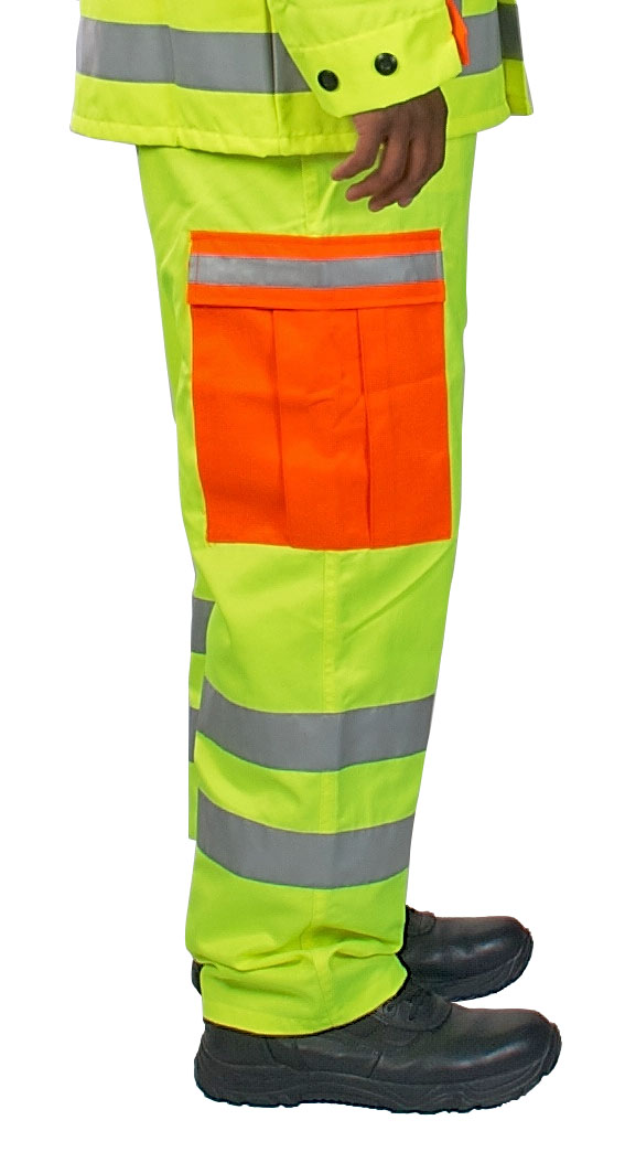 Alert Visions ANSI Class E High Visibility BDU Pant