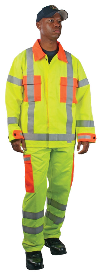 ANSI Class 3 High Visibility BDU Jacket